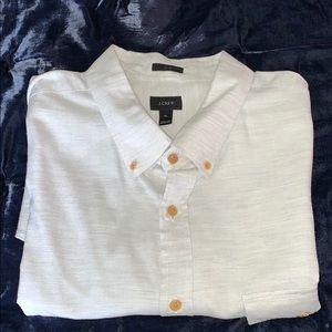 J. Crew slim fit shirt. Sz XL